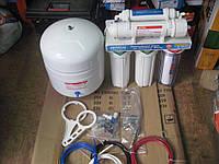 Фильтр для воды 5ти CRYSTAL осмос c хром краном.