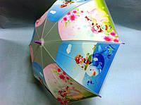 Зонт детский силиконовый Разные цвета