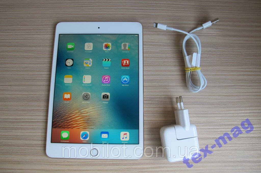 Планшет APPLE A1538 iPad mini 4 Wi-Fi 16Gb Gold