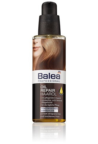 Вiдновлююча олiя Balea для  пошкодженого волосся 100мл.