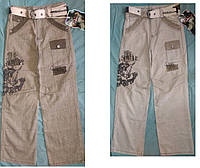 Льняные брюки, штаны на мальчика. Лето.10-15 лет