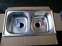 Мойка кухонная Haiba 780х430 микродекор.