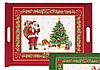 """Поднос """"Рождество"""" красный  52X37 код R0200-XREDNV, фото 2"""