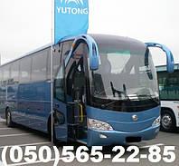 Автобусные  пассажирские перевозки Yutong , Донецк