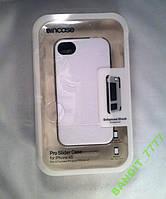 Чехол CL59878 Slider for iPhone 4/4S-White/Black
