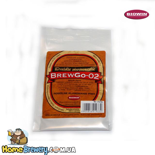 Пивные дрожжи элевые - BrewGo-02 Ale