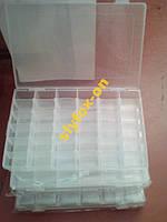 Пластиковая Коробка для SMD компонентов 27*17*4