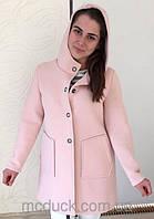 Женское шерстяное пальто из Италии,р.42-44