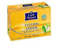 Чай чорний Lord Nelson Assam 50 пакетів Німеччина