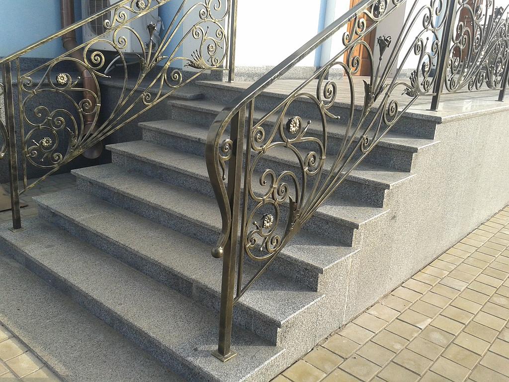 Лестницы из гранта, строительство крыльца