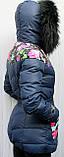 Пуховик женский теплый Macka Angel с воротником - енот, фото 3