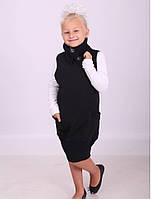 Платье сарафан модный для школы на девочек 5-12 лет.