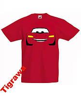 Детская мультяшная футболка из мультика Тачки Cars