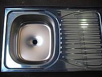 Кухонная накладная мойка Asil (0,7мм) 50х80см.