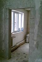 Алмазная резка проёмов без пыли в бетоне, кирпиче. Харьков и область