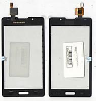 Сенсор LG P710/P713 Optimus L7 II чёрный