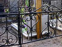 Огорожа на кладовищі ковані арт.рт 9, фото 1