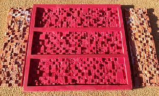 Каменные обои форма из Суперэластика для производства искусственного камня «Матрица», Matrix