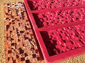 Каменные обои форма из Суперэластика для производства искусственного камня «Матрица», Matrix 1
