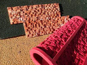 Каменные обои форма из Суперэластика для производства искусственного камня «Матрица», Matrix 8