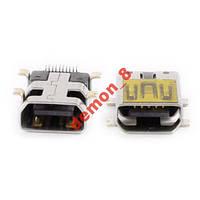 Коннектор зарядки MIni USB тип №3
