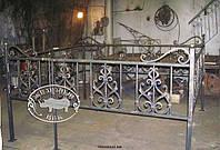 Оградка на кладбище кованая арт.рт 10