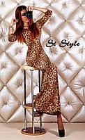 Леопардовое платье СТ, фото 1
