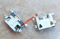 Коннектор зарядки  Lenovo A708t/S890