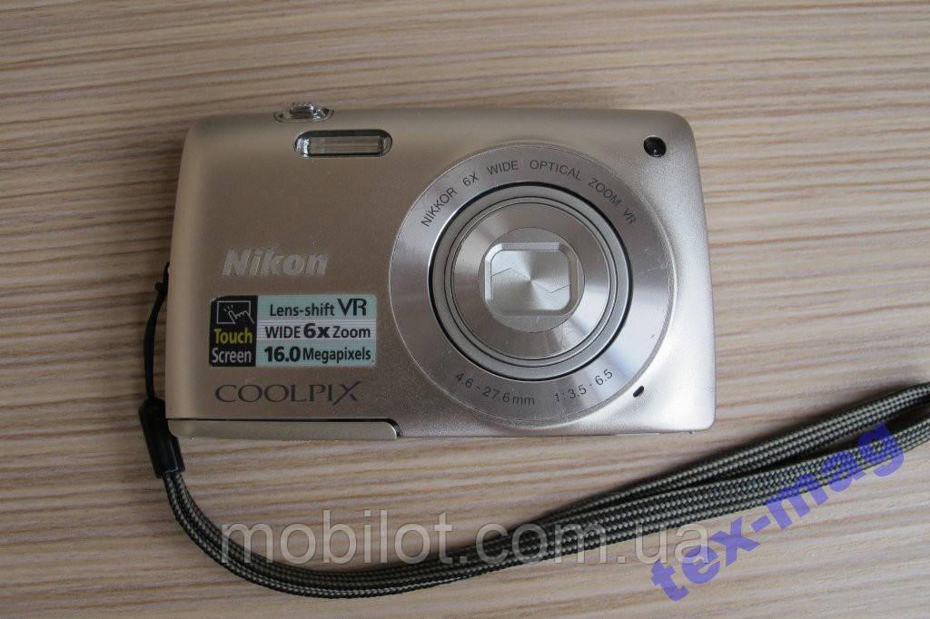 Фотоаппарат Nikon Coolpix S4300 Silver (FZ-932)
