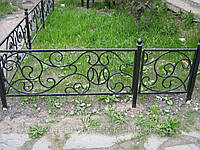 Кованый забор арт.22