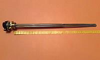"""Тэн батарейный нержавейка 1500W (Турция) на резьбе 1"""" для алюминиевых батарей с итальянским терморегулятором, фото 1"""