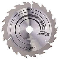 Циркулярный диск Bosch 140x20 9 Speedline