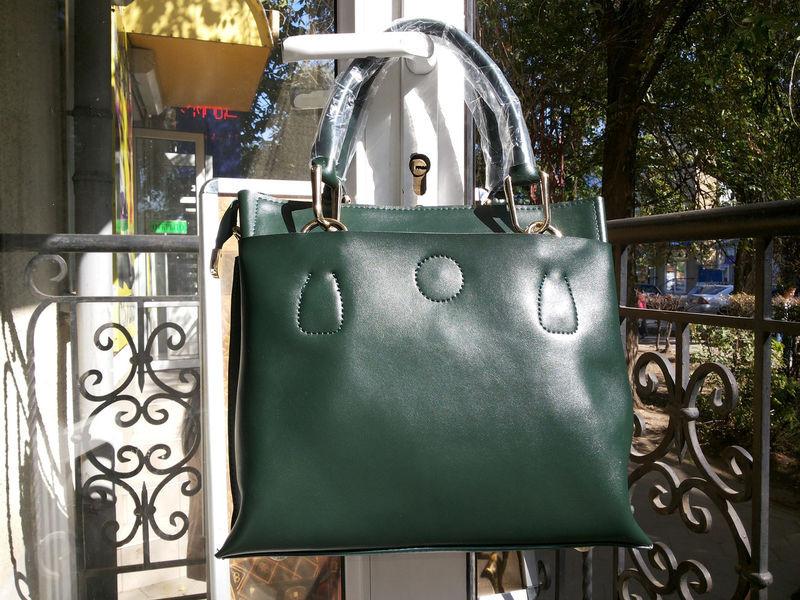 714d19dd799b Сумка женская кожаная зеленая Voee Vodd 8153-2 - купить по лучшей ...