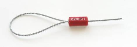 Пломбы-замки тросовые,металлические. Т-1-2207. 1,8 мм