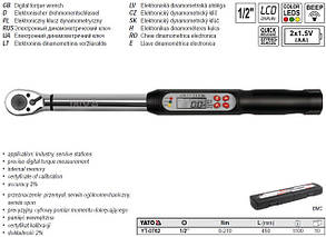 Электронный динамометрический ключ Yato YT-0762, фото 2