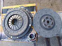 Комплект сцепления ЗИЛ 130 в сборе (корзина + диск + выжимной) (пр-во ТРИАЛ Россия)