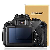 Защита основного и вспомогательного LCD экрана ZOMEI для Canon 70D - закаленное стекло