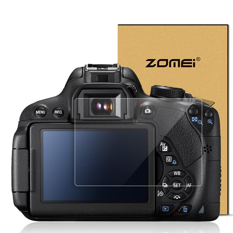 Защита LCD экрана ZOMEI для Canon 650D - закаленное стекло