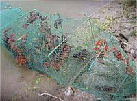 Раколовка 2,7м 23*18см на 9 входов, для эффективной ловли