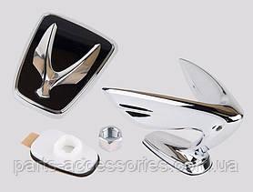 Эмблема значок на капот и на багажник Hyundai Eguus 2009-16 новые оригинальные