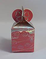 "Подарочная коробка ""Розы на розовом"""