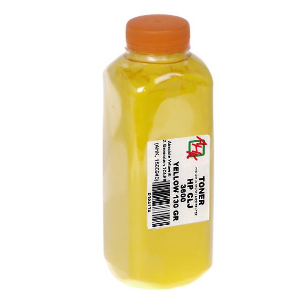Тонер АНК для HP CLJ 3600 бутль 130г Yellow (1500940)