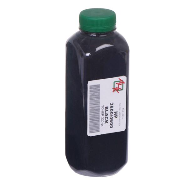 Тонер АНК для HP CLJ 4600/4650, Canon LBP-2510/5500 бутль 220г Black (1500960)