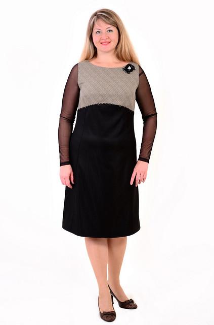 Платье нарядное с завышенной талией