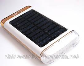UKC Power bank solar 15000 mAh + зарядка от солнечной батареи  , фото 3