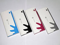 Внешний аккумулятор портативное зарядное устройство Apple Power Bank 30000 mAh реплика фонарик 3 USB