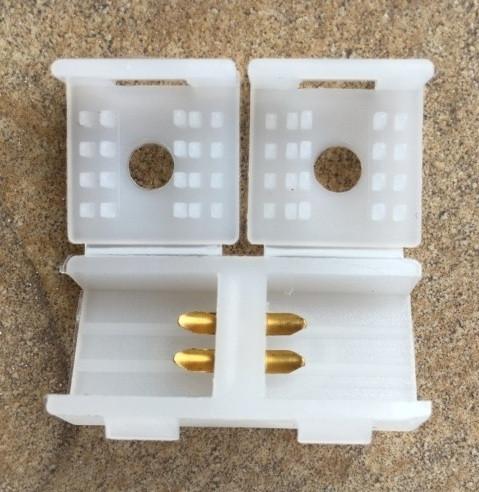 Соединитель для светодиодной ленты SANAN LS704 2835 220V Код.57560