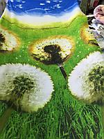 Ранфорс с 3д-рисунком Одуванчики