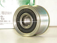Ременной шкив (7PK) на Рено Лоджи 1.2TCe (Генератор Bosch) INA (Германия) - 535008110