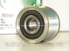 Ременной шкив (7PK) на Рено Доккер 1.2TCe (Генератор Bosch) INA (Германия) - 535008110